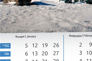 Многолистови календари 2017