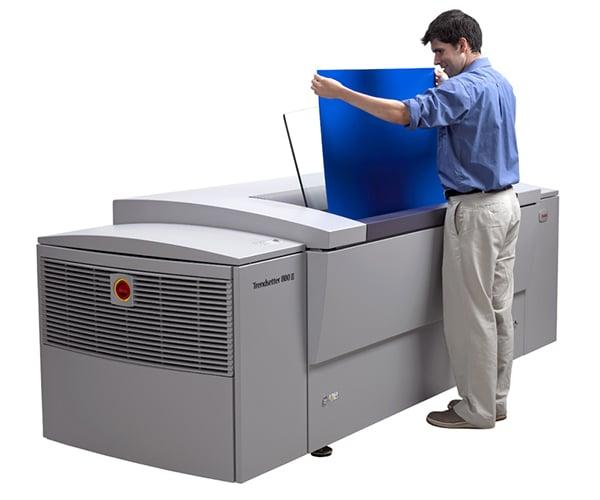 CTP система Kodak Trendsetter 800III Quantum в Булгед