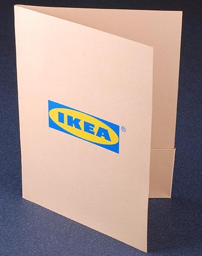Bulged   Folders with glued pocket - Bulged