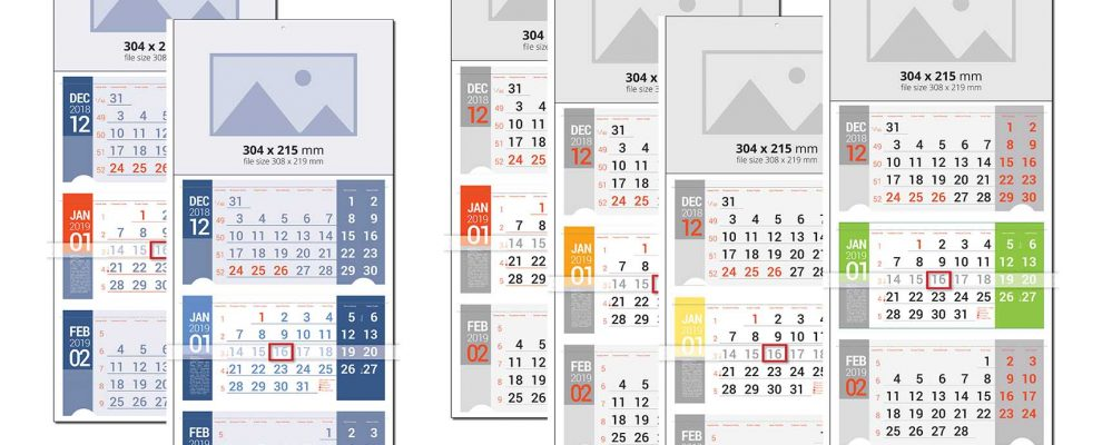 Работен календар Универсал Мулти - 3m